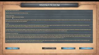 Age of Empires DE TC Ascent of Egypt Advancing to the next Age