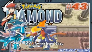 Pokemon Diamond Walkthrough 43 : Route 222, Sunyshore City