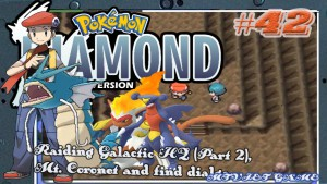 Pokemon Diamond Walkthrough 42 : Raiding Galactic HQ (Part 2), Mt. Coronet and find dialga